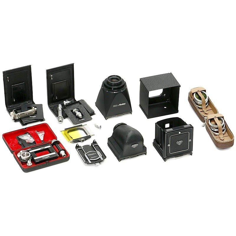 23: Rolleiflex TLR Camera Accessories