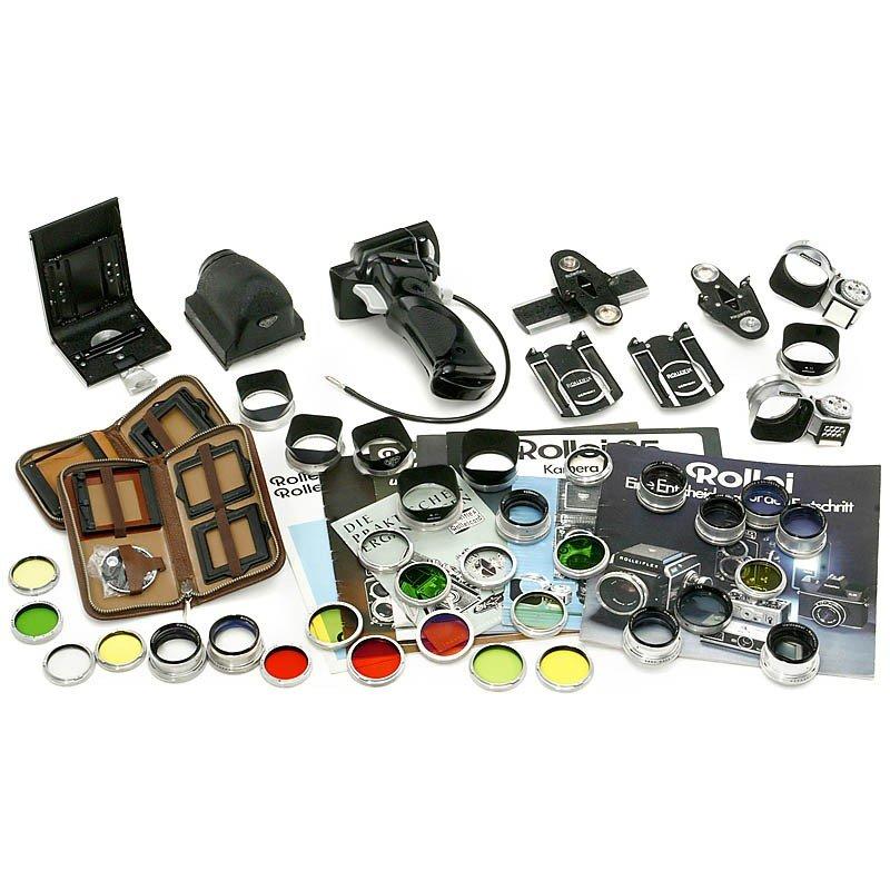 24: Rolleiflex TLR Camera Accessories