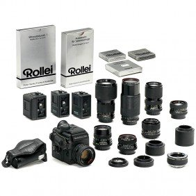 Large Rolleiflex 3003 Outfit, 1986