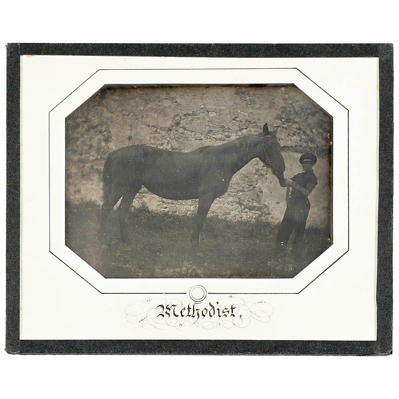 "664: Daguerreotype ""Methodist"" by Louis-Auguste Bisson,"