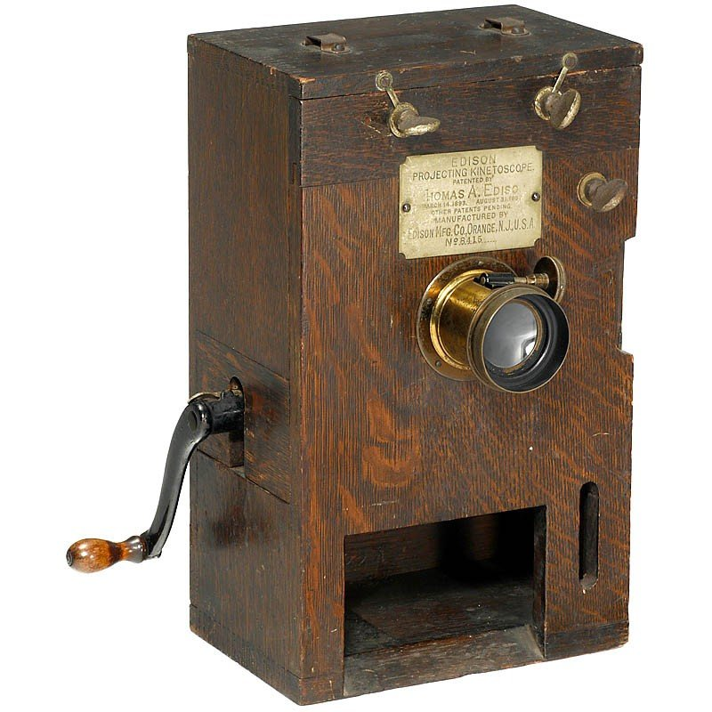 Home projecting kinetoscope