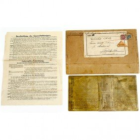 """Physical Slide Rule """"Section Indicator"""" C. 1922"""