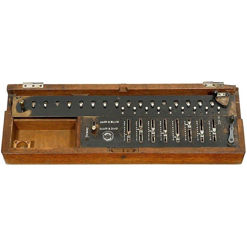 """11: """"Burkhardt Arithmometer"""", 1878"""