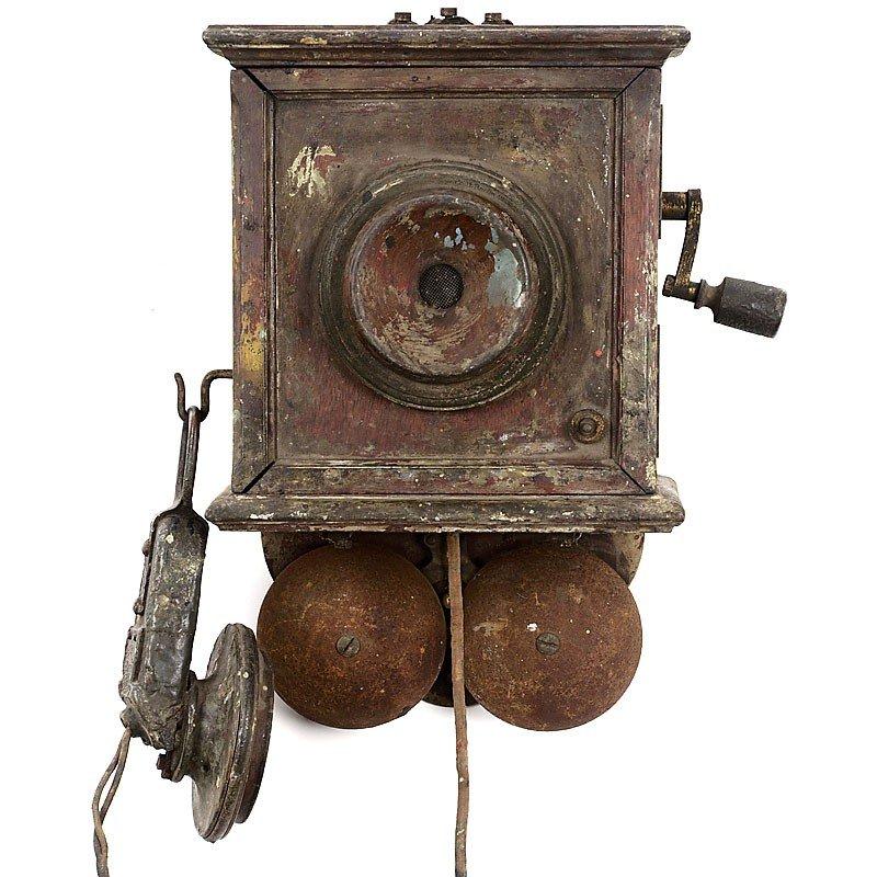 20: German Wall Telephone, c. 1902