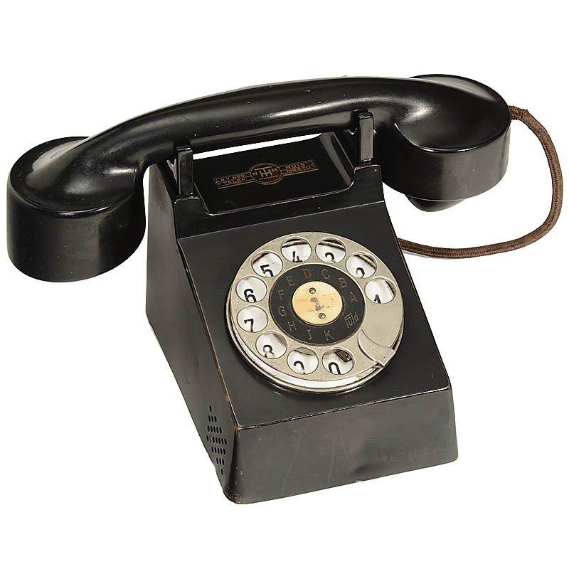 "21: Bakelite ""Bauhaus"" Telephone Model ""Neues Frankfurt"