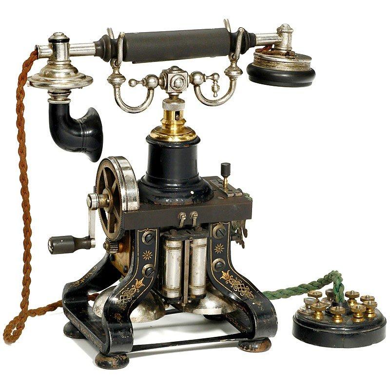 23: Skeleton Telephone Model AC 110 by L.M. Ericsson, f