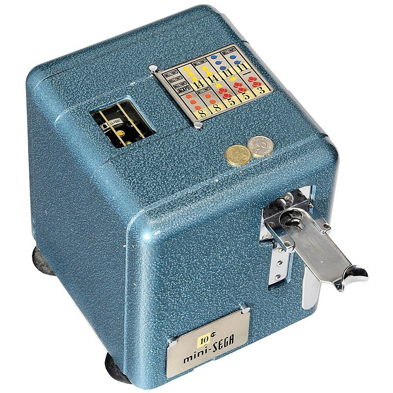 Mini sega slot machine the casino series