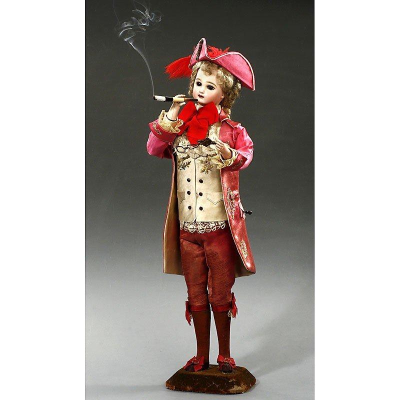 "426: ""Marquis Smoker"" Automaton by Leopold Lambert, Par"