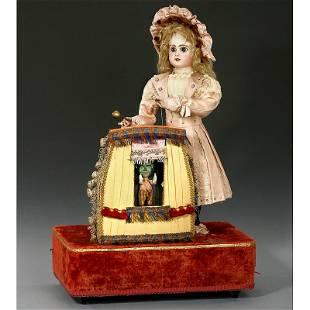 "427: Rare ""Magic Theatre"" Musical Automaton by Renou, c"