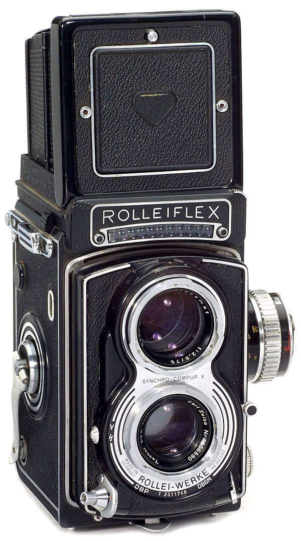 23: Rolleiflex T with numerous Accessories, 1970