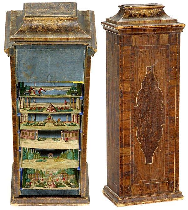 728: Peepshow Box Martin Engelbrecht, um 1750 - 2