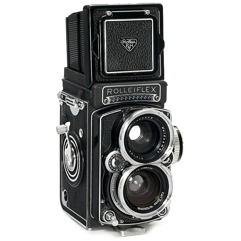 24: Early Wide-Angle Rolleiflex, 1961