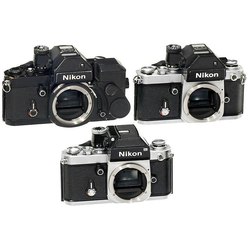 107: 2 x Nikon F2S Photomic and Nikon F2 Photomic