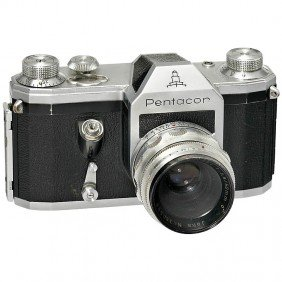 Pentacon With TES-Interimar 2,8/50 Mm, 1955