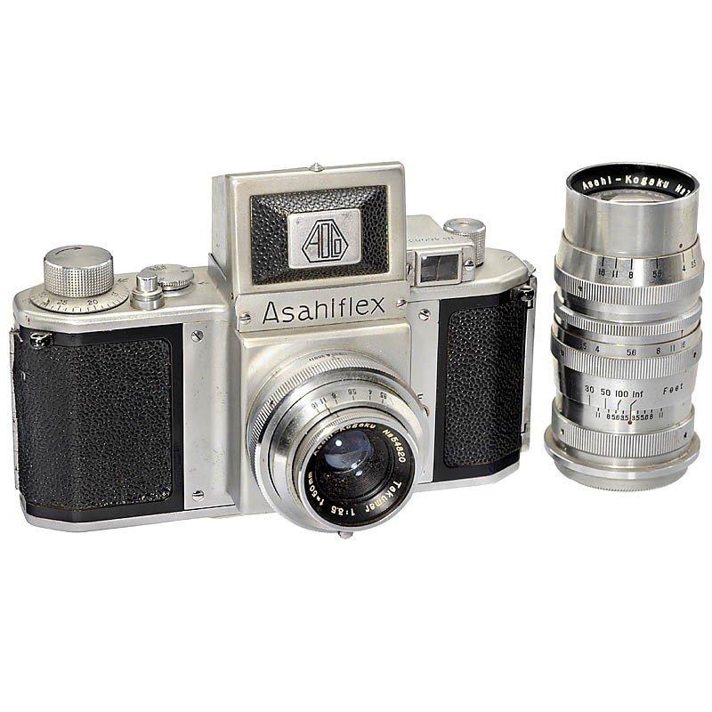 172: Early Asahiflex Ia with Tele Lens, 1953
