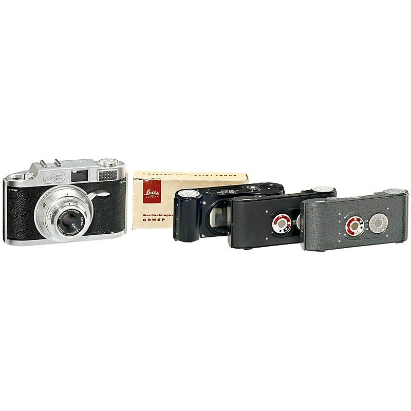 183: Adox 300 with 3 Magazines, 1957