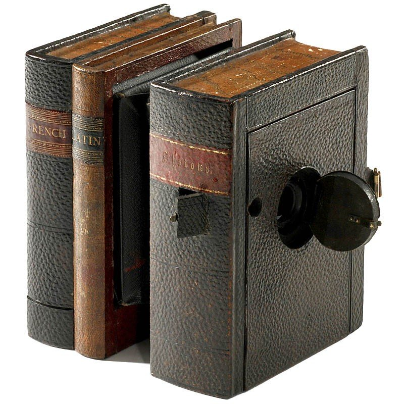 394: Scovill & Adams Book Camera, 1892