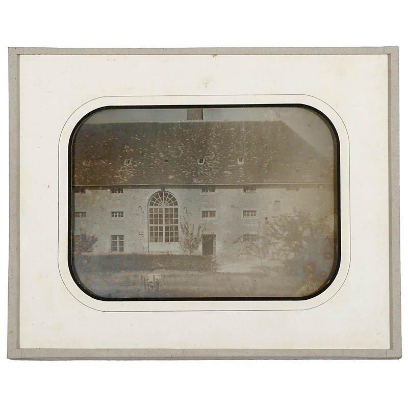 401: Daguerreotype by Fortuné-Joseph Petiot-Groffier, c