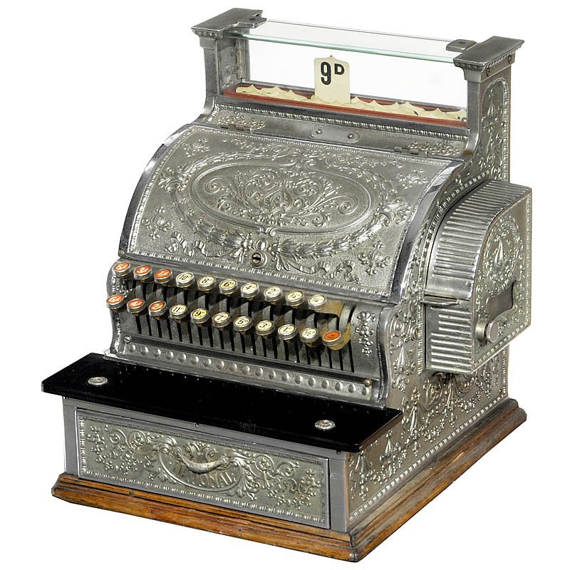 "20: Cash Register ""National"" Model 345, c. 1910"