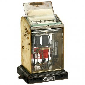 Official French Stockmarket Teleprinter, C. 1920