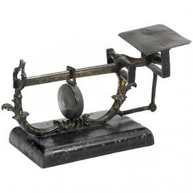 Early English Letter Scale, 19th Century