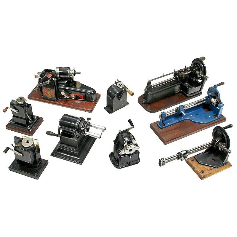 49: Collection of 9 Pencil Sharpeners