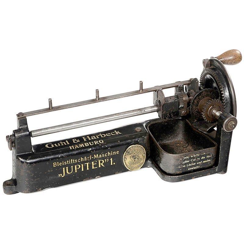"""50: Pencil Sharpener """"Jupiter 1"""", c. 1920"""