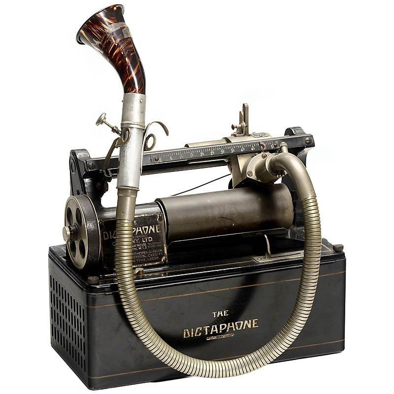 """53: Dictating Machine """"The Dictaphone: Model 10"""", c. 19"""