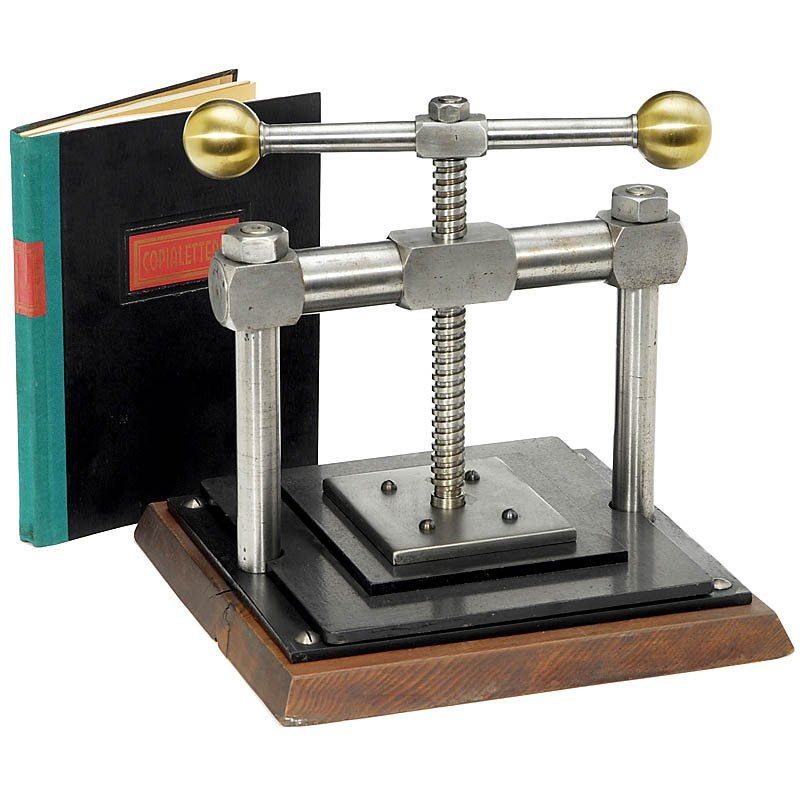 59: Copy Press with Copying Book