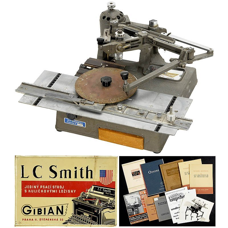 60: Lot Writing and Calculating Machine Accessories
