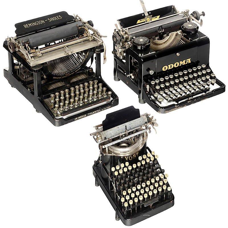 63: 3 Typewriters