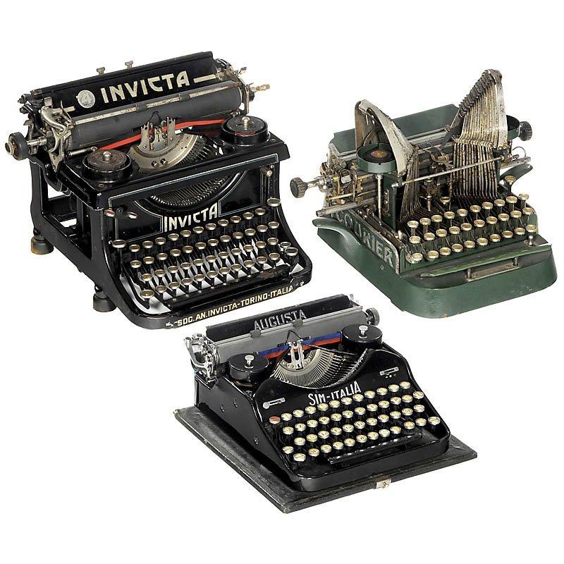 66: 3 Typewriters