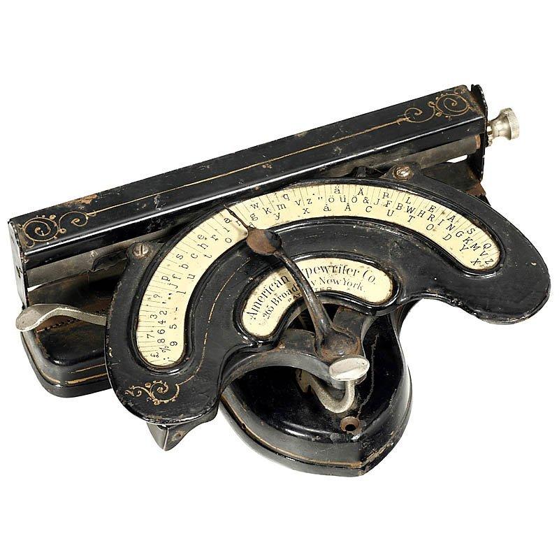 67: American Index Typewriter, 1893