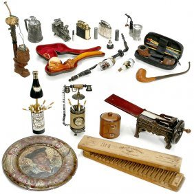 Collection Of Smoker's Utensils