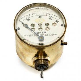 American Speedometer, C. 1910