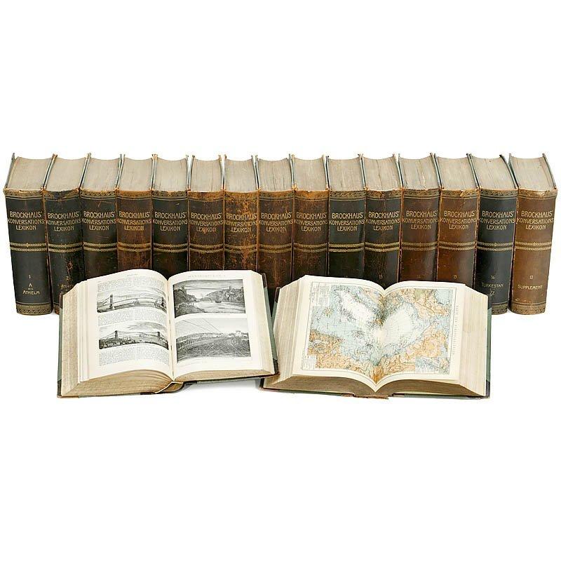 300: 17-part Brockhaus Encyclopedia, 1901