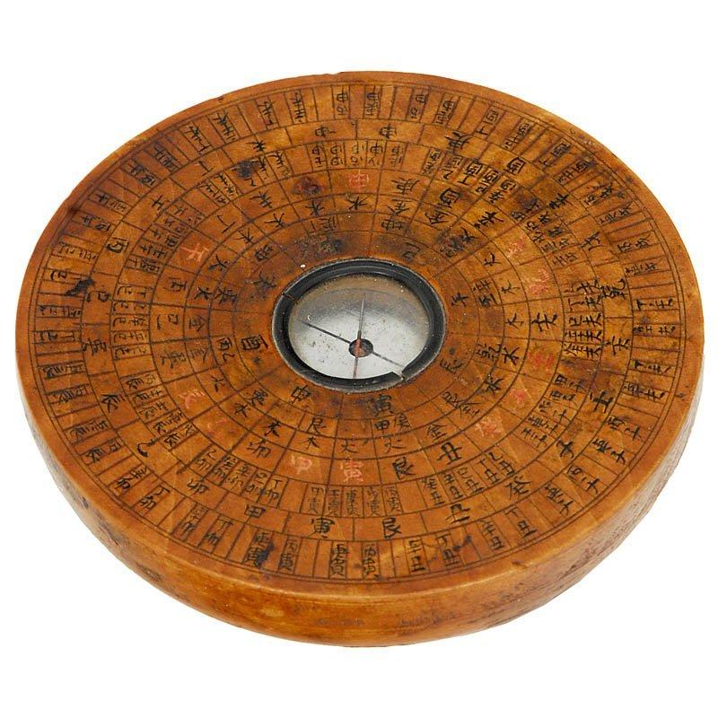 306: Geomantic Compass, 19th Century