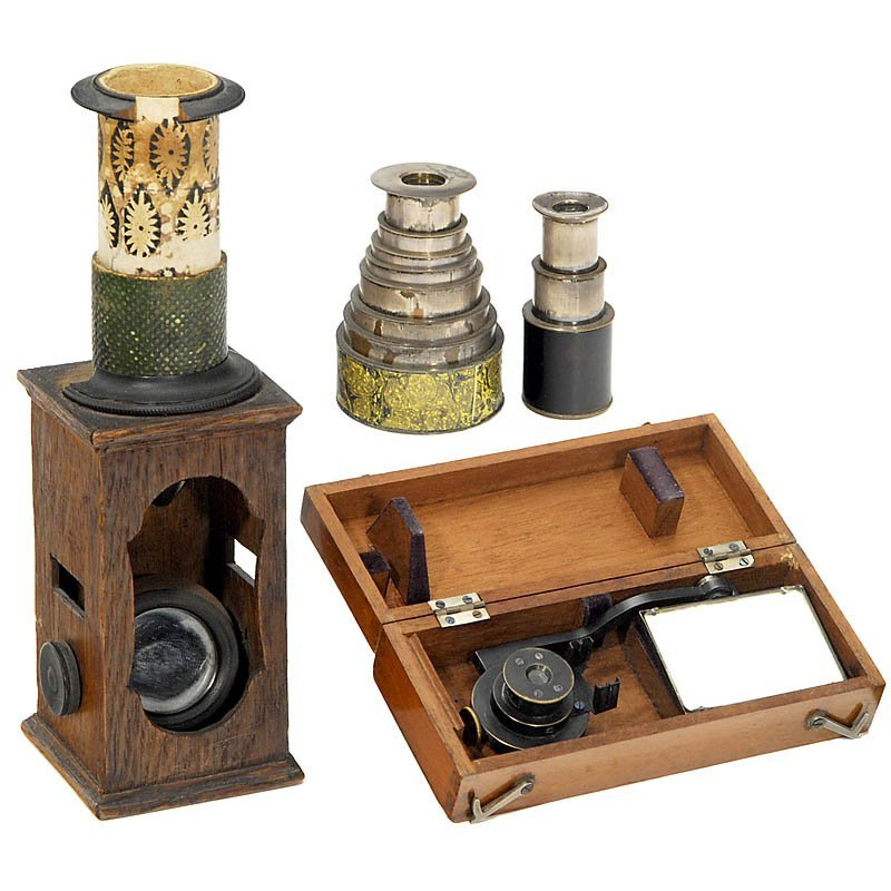 313: Small Collection of Optical Instruments