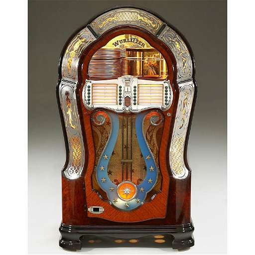 667: Wurlitzer Jukebox Model 1080 (\