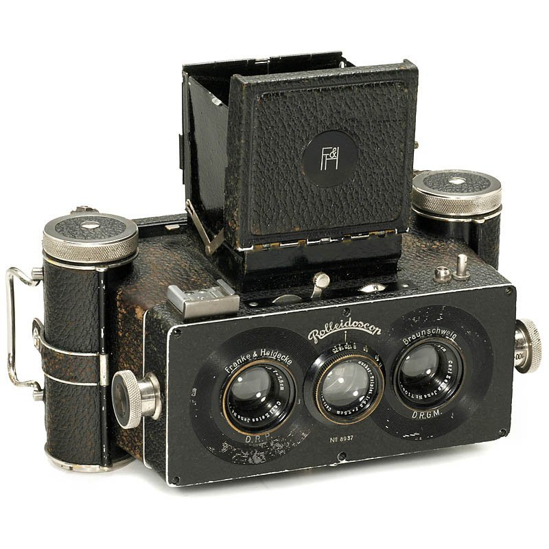 3: Rolleidoscop 6 x 13, c. 1927