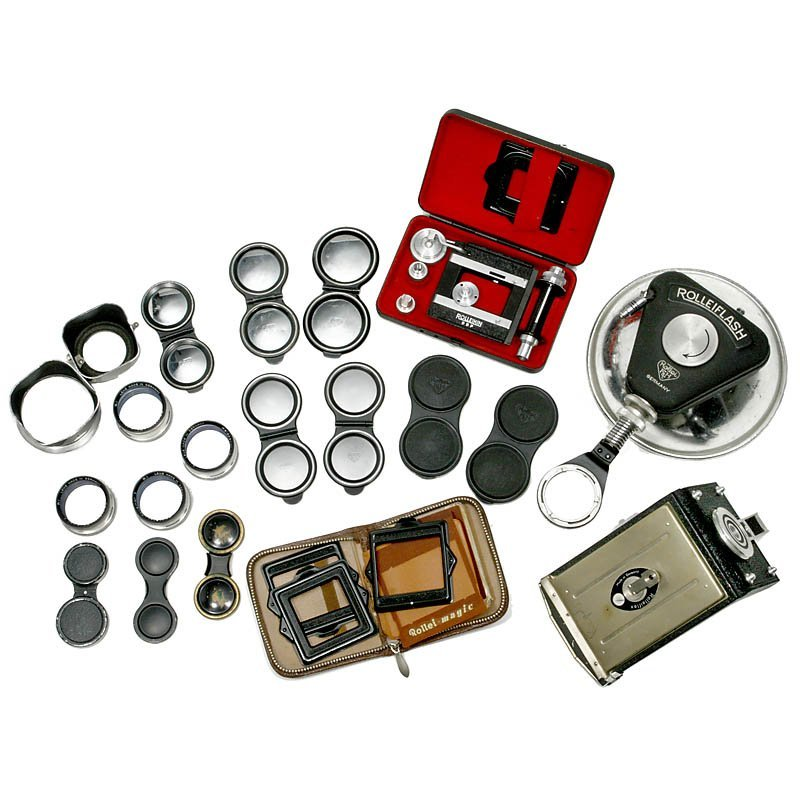 5: Lot Rollei Accessories