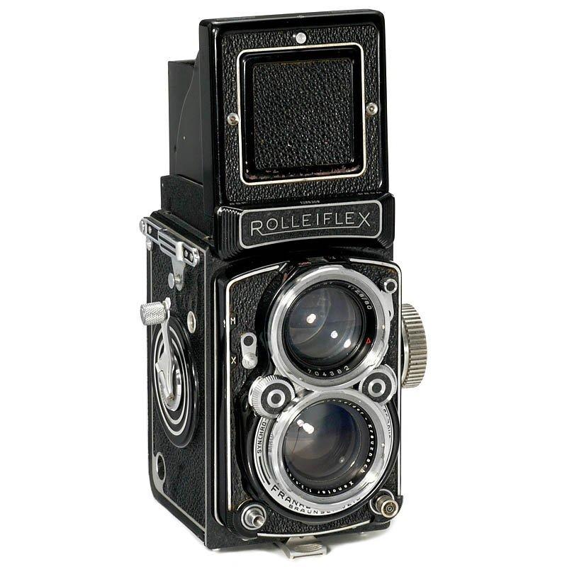 """7: Rolleiflex 2,8 C """"Xenotar"""", 1952"""