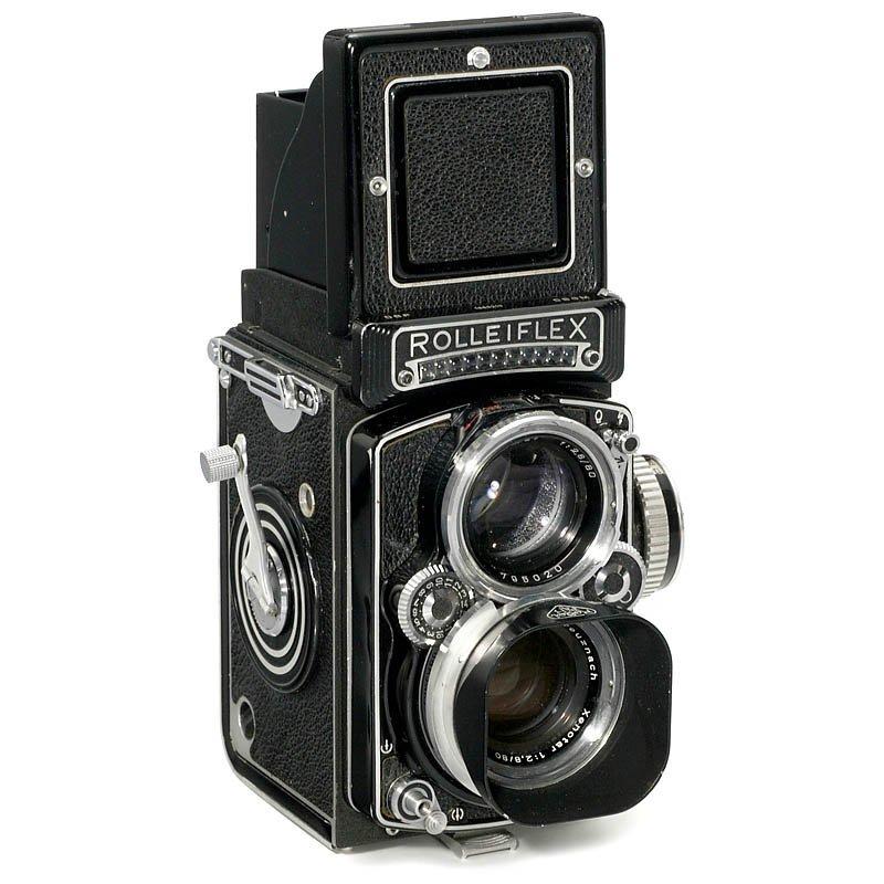 """10: Rolleiflex 2,8 E """"Xenotar"""", 1956"""