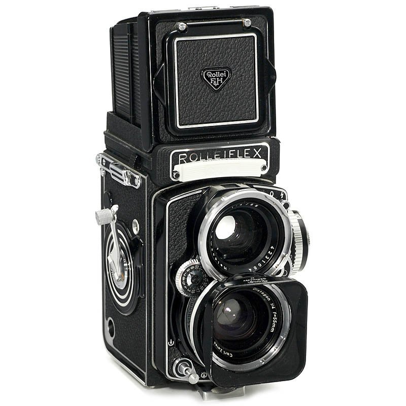 16: Wide-Angle Rolleiflex (Last Production!), 1967