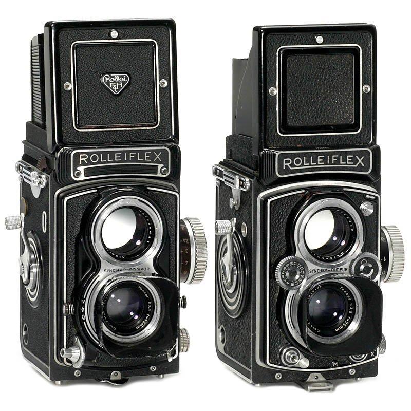 17: Rolleiflex T and Rolleiflex 3,5 B