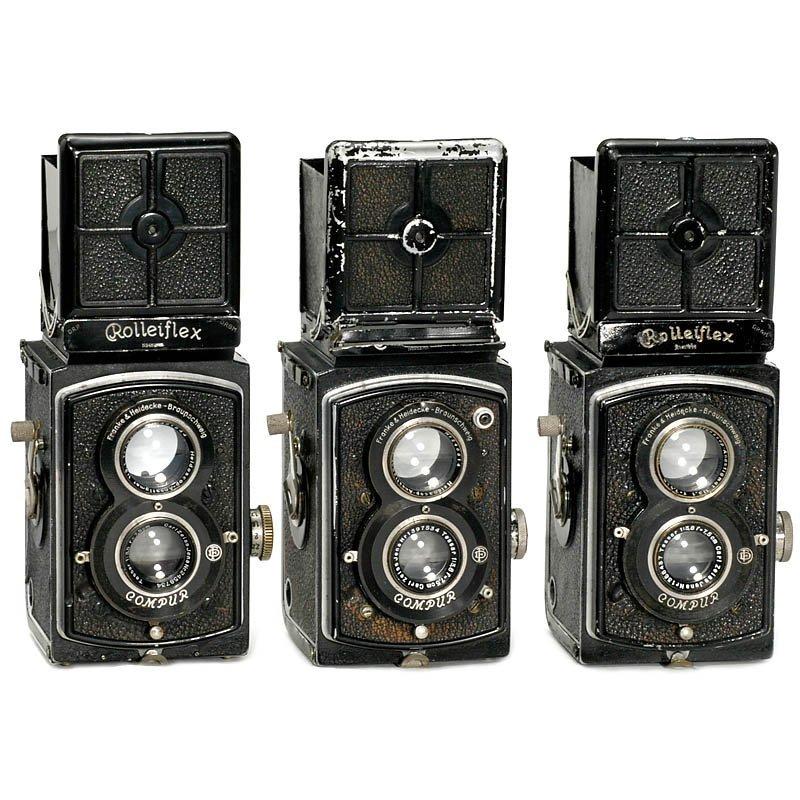 19: 3 x Rolleiflex Standard, 1932-35