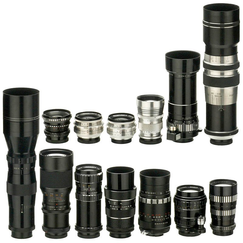 69: 13 Lenses for Exakta (e.g. Tele-Kilar)