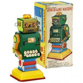 """6: Calculating Robot """"Answer Game"""", c. 1963"""