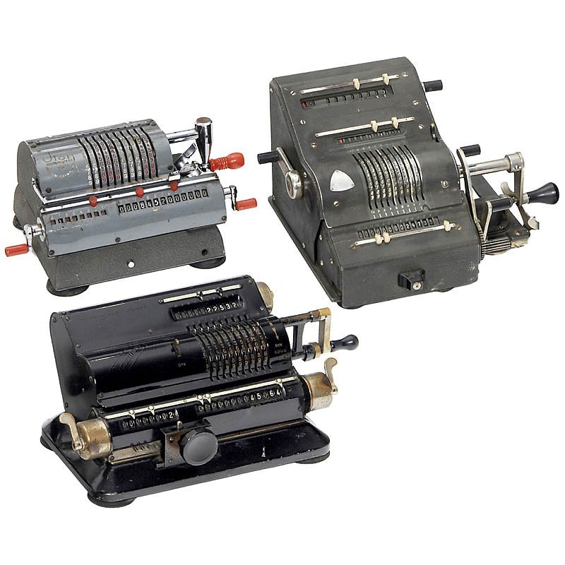 8: 3 Spokewheel Calculating Machines
