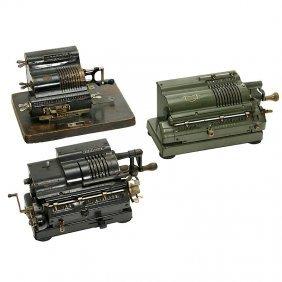 3 Calculating Machines